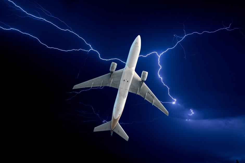 thunder-plane-white-blue-sky