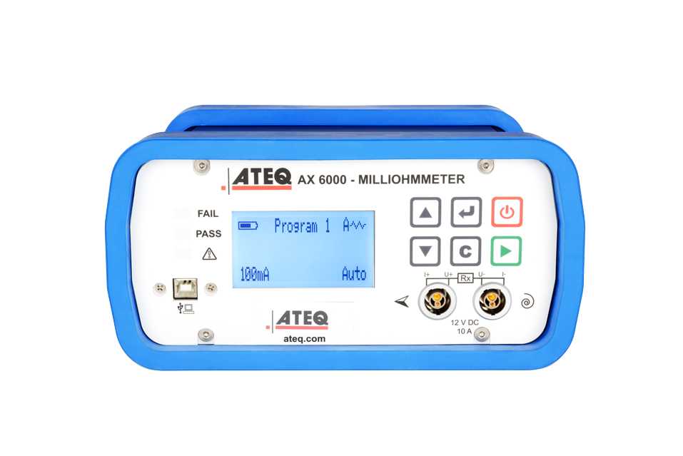 AX6000 PORTABLE MILLIOHMMETER 2020 For all aircraft