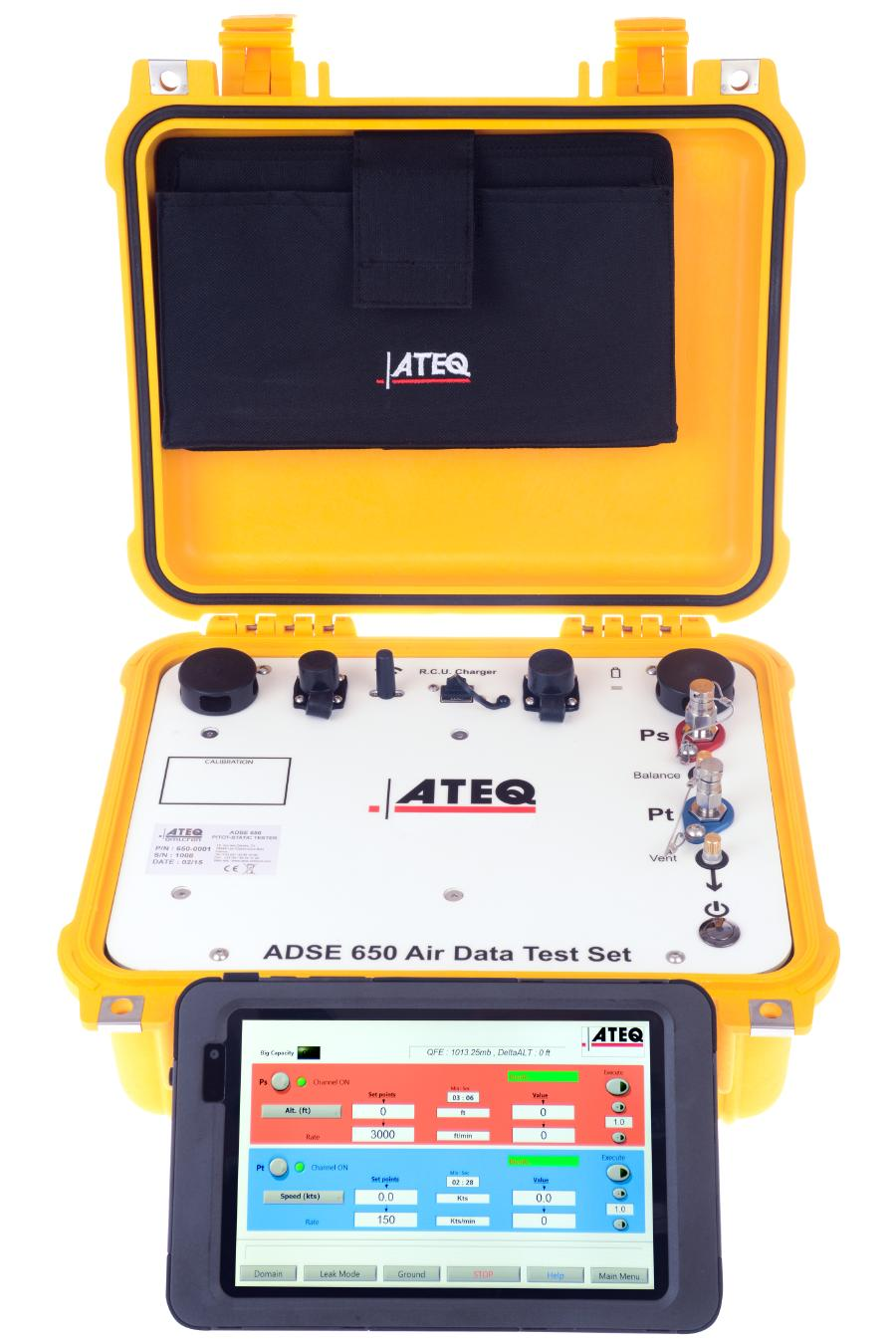 ateq aviation division air data test set pitot static testers and electrical testers for. Black Bedroom Furniture Sets. Home Design Ideas